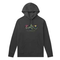 Худи HUF FA20 Wild flowers 2 hoodie black