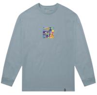 Лонгслив HUF HO19 Comics box logo ls cloud blue -30%