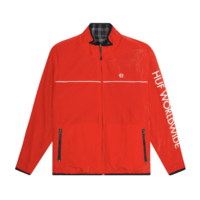 Двухсторонняя куртка HUF HO19 Milton reversible polar fleece black -40%