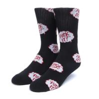 Носки HUF HO20 Motto sock black