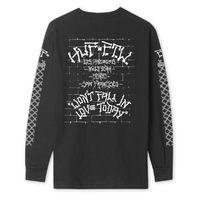 Лонгслив HUF SU19 Pavillion ls tee black