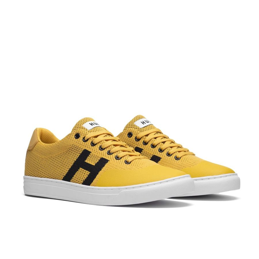 Кроссовки HUF SU19 Soto knit yellow -30%