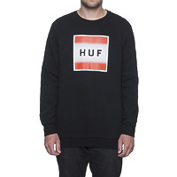 Реглан HUF Poster box logo crewneck black -50%