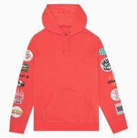 Худи HUF SU19 Sticker wars pullover hoodie cayenne -30%