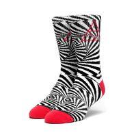 Носки HUF SU19 Trance triangle sock white