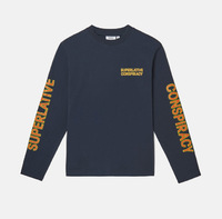 Лонгслив WeSC Fall18 Makai SC ls t-shirt black -30%