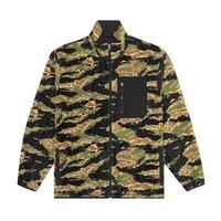 Двухсторонняя куртка HUF HO19 Milton reversible polar fleece tiger camp