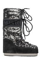 Зимние сапоги, мунбуты Tecnica Moon Boot Classic disco black -30%