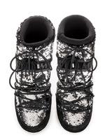 Зимние сапоги, мунбуты Tecnica Moon Boot Classic disco black