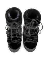 Зимние сапоги, мунбуты Tecnica Moon Boot Classic Faux fur black -30%