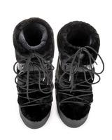 Зимние сапоги, мунбуты Tecnica Moon Boot Classic Faux fur black