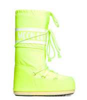 Зимние сапоги, мунбуты Tecnica Moon Boot Jeremy Scott neon yellow -30%