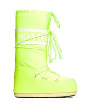 Зимние сапоги, мунбуты Tecnica Moon Boot Jeremy Scott neon yellow