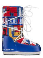 Зимние сапоги, детские мунбуты Tecnica Moon Boot JR Boy abstract
