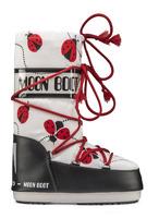 Зимние сапоги, детские мунбуты Tecnica Moon Boot JR Girl ladybug