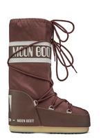 Зимние детские сапоги, мунбуты Tecnica Moon Boot Nylon junior rust
