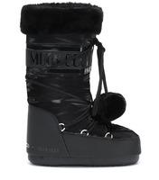Зимние сапоги, мунбуты Tecnica Moon Boot Pom Pom black