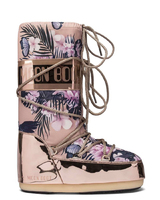 Зимние сапоги, мунбуты Tecnica Moon Boot Tropical mirror copper camo rose