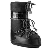 Зимние сапоги, мунбуты Tecnica Moon Boot Delux black