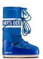 Зимние сапоги, детские мунбуты Tecnica Moon Boot Nylon electric blue junior -30%