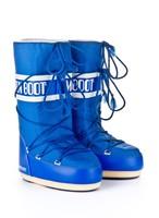 Зимние сапоги, детские мунбуты Tecnica Moon Boot Nylon electric blue junior