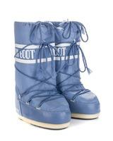 Зимние сапоги, детские мунбуты Tecnica Moon Boot Nylon stonewash junior