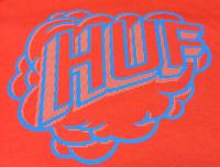 Футболка HUF N Puf tee red -50%