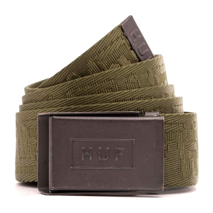 Ремень HUF SP21 Otis scout belt olive