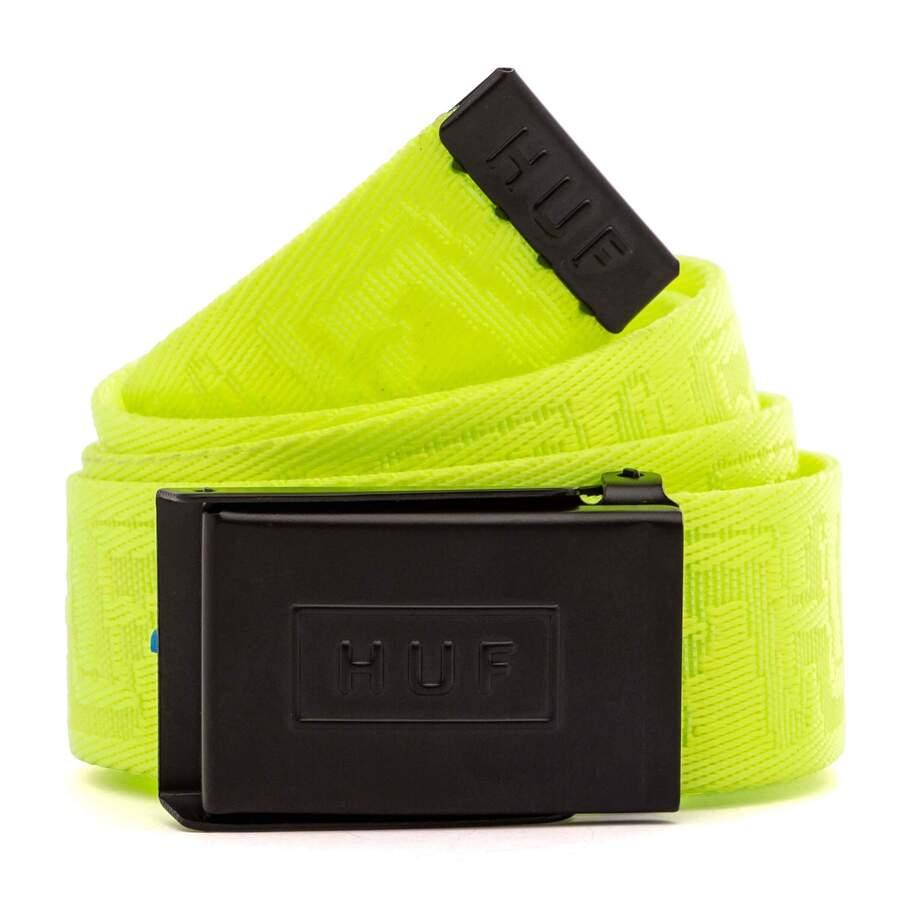 Ремень HUF SP21 Otis scout belt safety yellow