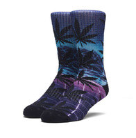 Носки HUF SP18 Plantlife Digital airbrush socks purple