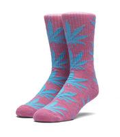 Носки HUF SP18 Plantlife melange sock magenta -30%