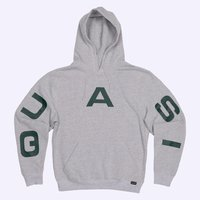 Худи Quasi HOQ19 Pace hood sweatshirt grey heather