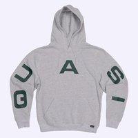 Худи Quasi HOQ19 Pace hood sweatshirt grey heather -40%