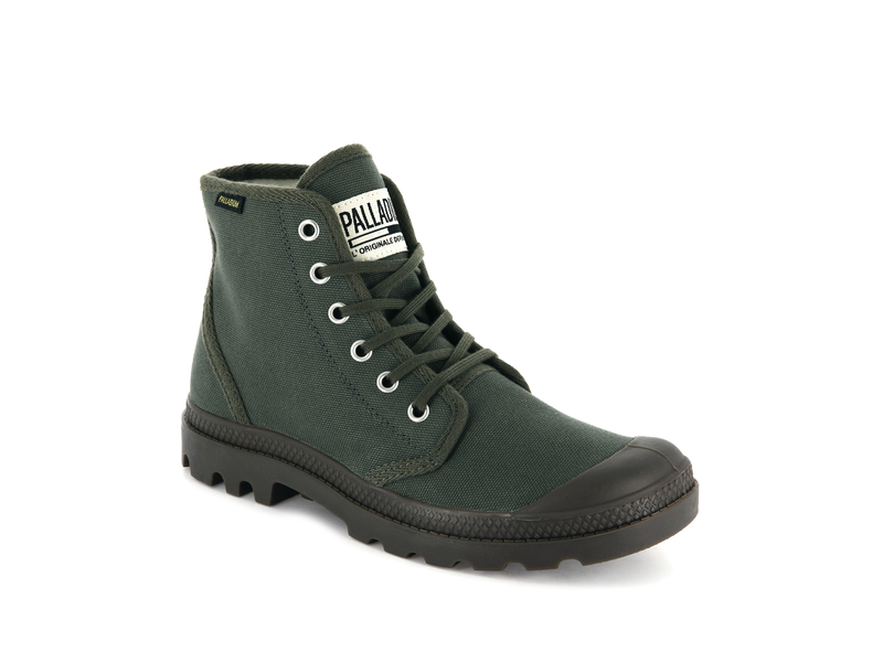 Кеды Palladium SSP19 Pampa hi originale olive night
