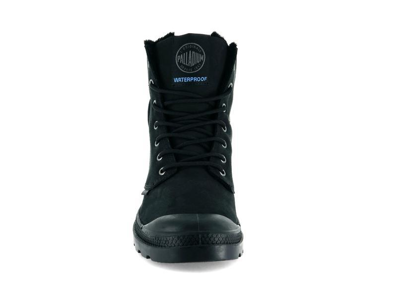 Ботинки Palladium Pampa sport cuff wps black/black -30%