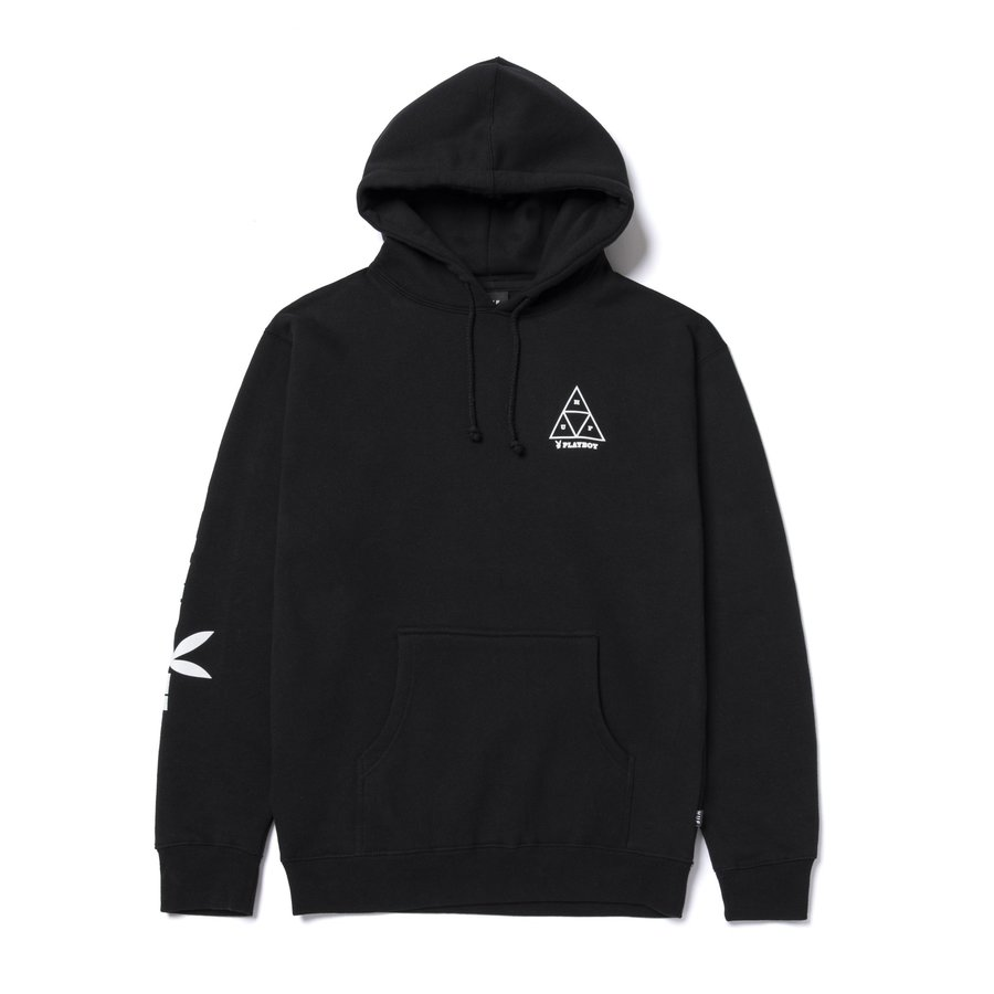 Худи HUF Playboy bunny TT hoodie black