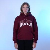 Реглан Quasi HOQ18 Arc hood sweatshirt burgundy