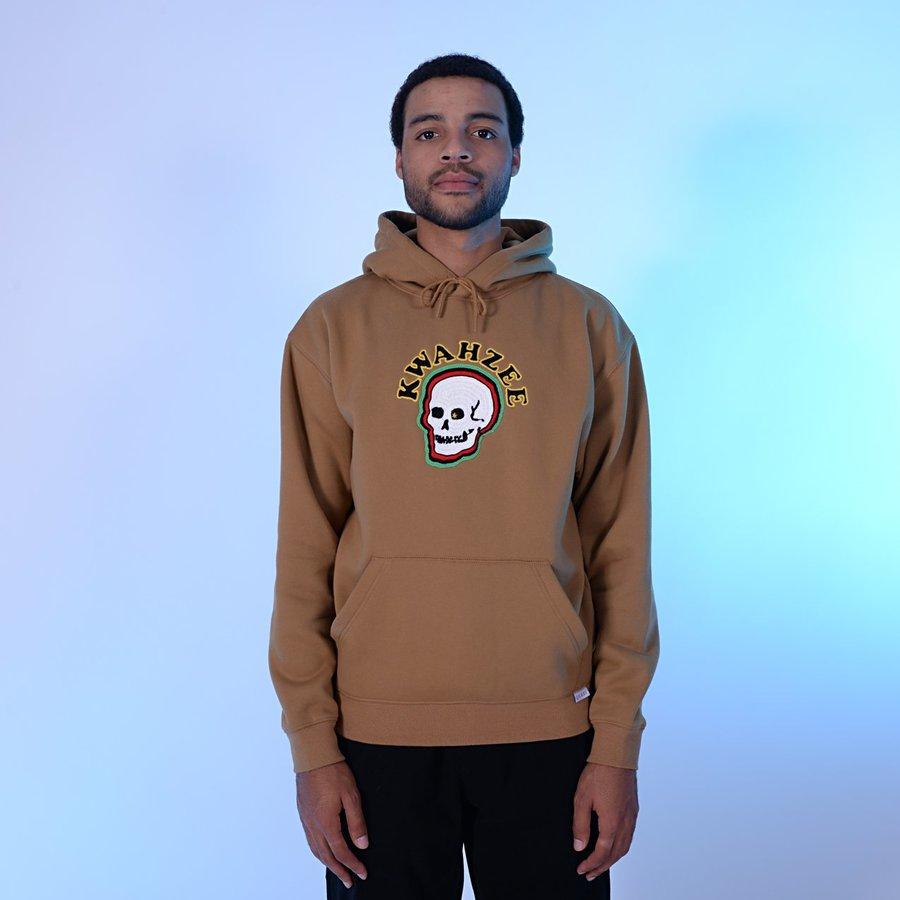Реглан Quasi HOQ18 Doom hood sweatshirt tan