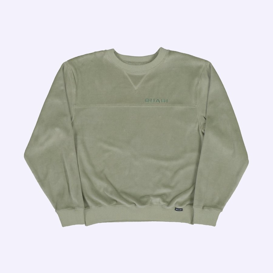 Свитшот Quasi SPQ20 Walter hood sweatshirt ash
