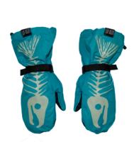 Сноубордические варежки Salmon Arms Bones blue -30%