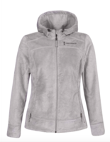 Женская флисовая кофта Free Country Hooded Butterpile Jacket winter silver