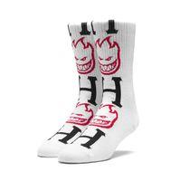 Носки HUF Spitfire bighead H socks white