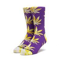 Носки HUF SU19 Tie-dye leaves plantlife sock ultra violet