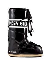 Зимние сапоги, детские мунбуты Tecnica Moon Boot jr black white
