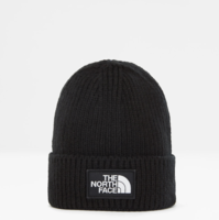 Шапка TNF Logo Box Cuffed Beanie black