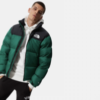 Пуховик The North Face 1996 Retro Nuptse packable jacket evergreen