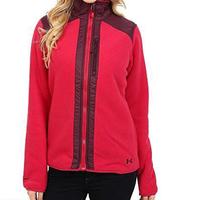Женская флисовая кофта Under Armour Taunen Fleece Jacket fury -60%