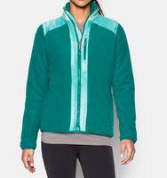 Женская флисовая кофта Under Armour Taunen Fleece Jacket emerald -60%