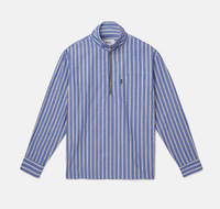 Рубашка WeSC Fall18 Banks ls shirt relaxed fit marine blue -50%