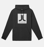 Реглан WeSC Fall18 Box Icon hooded sweatshirt black -30%